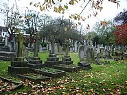 Fulham Palace Road Cemetery - geograph.org.uk - 1039602