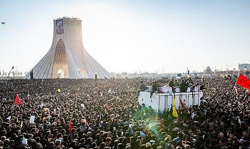 Funeral of Qasem Soleimani, Tehran, Mehr 08