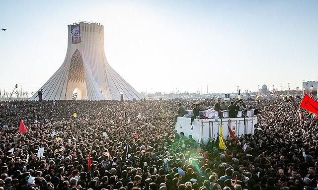 Funeral of Soleimani in Iran