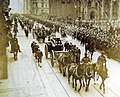 Funeral procession for 17 Sailors and Marines who fell at Veracruz, New York, 1914 (24053214357).jpg