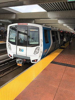 Future Fleet Open House at El Cerrito Del Norte Station