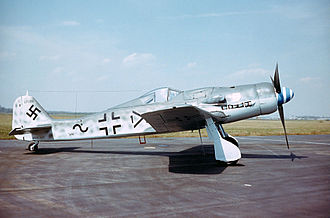 Jagdgeschwader 3 - An Fw 190D-9 of JG 3, now at the NMUSAF
