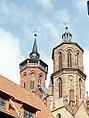 Göttingen St Johannis Turmpaar 2941 201409.jpg
