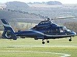 G-BTNC Aerospatiale Dauphin AS365 Helicopter Multiflight Ltd (34325994092).jpg