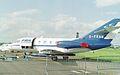 G-FRAM Dassault Falcon (Mystere) 20EW (cn 224) FR Aviation, RIAT 1993. (6974414862).jpg