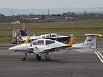 G-YDEA Diamond Twin Star 42 Diamond Executive Aviation Ltd (25984921472).jpg