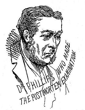George Bagster Phillips - Dr George Bagster Phillips in 1888