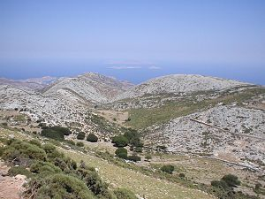 Naxos - Landscape of the island