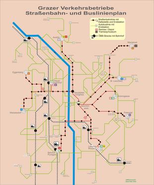 Liste Der Linien Der Graz Linien Wikipedia