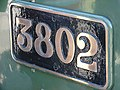 GWR Style Locomotive Number Plate - geograph.org.uk - 516091.jpg
