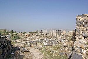 Battle of Cana - Ruins of Gadara, modern-day Umm Qais in Jordan.
