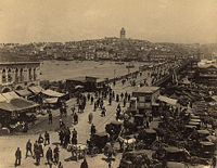 Galata Bridge, late 19th century