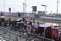Ganassi-Target Racing Pits SPGP 24March2012 (14513052509).jpg