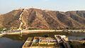 Garden lake Amer fort jaipur.jpg