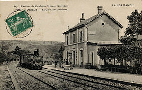 Image illustrative de l'article Gare de Ménil-Hubert - Pont d'Ouilly