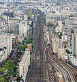 Gare Montparnasse - rail track, Paris 6 April 2014 004.jpg