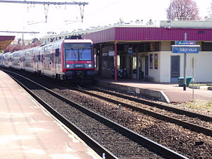 Orly-Ville (Paris RER) - Platforms