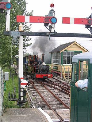 Gartell Light Railway - Image: Gartell Light Railway by TIM CHAPMAN