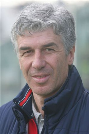 Gian Piero Gasperini - Gasperini while as Genoa manager in March 2008