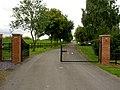 Gates to Barmby barrage car park. - geograph.org.uk - 537456.jpg