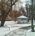 Gazebo in Murray City Park on winter morning.jpg