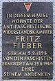 Gedenktafel Krossener Str 27 (Friedh) Fritz Fieber.jpg