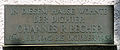 Gedenktafel Majakowskiring 34 (Niedschh) Johannes Robert Becher.jpg