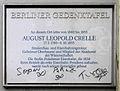 Gedenktafel Potsdamer Str 172 (Schöb) AugustLeopold Crelle.JPG