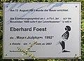 Gedenktafel Wilhelmstr 43A (Kreuzb) Eberhard Foest.jpg