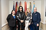 Gene Simmons and Shannon Tweed visit to the Pentagon 190516-D-SW162-1185 (46947989005).jpg