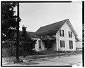 General view, northwest corner - Colonel Thompson House, 603 Front Street, Beaufort, Carteret County, NC HABS NC,16-BEAUF,10-3.tif