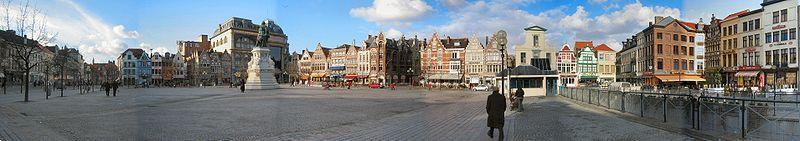 Vrijdagmarkt - площадь Пятничного рынка