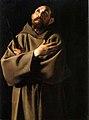 Gentileschi - San Francesco, Barbara Plasecka Johnson Foundation.jpg