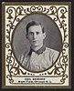 Geo. Howard, Chicago Cubs, baseball card portrait LCCN2007683736.jpg