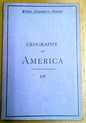 John Francon Williams - Geography of America by John Francon Williams