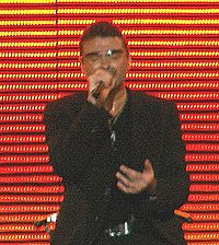 George Michael at 25LIVE concert, Poland