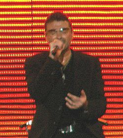 George Michael in concerto nell'estate del 2007