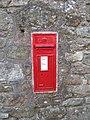 George the fifth wall postbox, Moretonhampstead - geograph.org.uk - 1395282.jpg