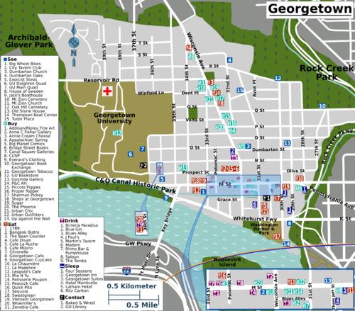Washington DCGeorgetown Travel guide at Wikivoyage