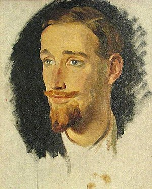 Gerald Heard - Painting by Glyn Philpot, before 1937