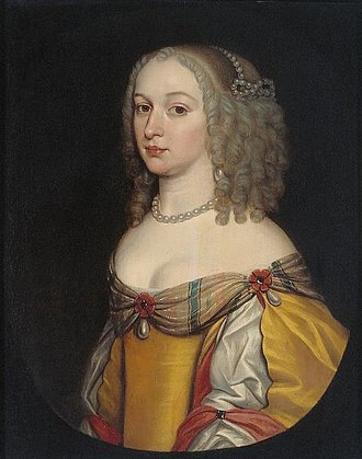 Amalia Margaretha van Brederode - Amalia Margarethe van Brederode by Gerard van Honthorst