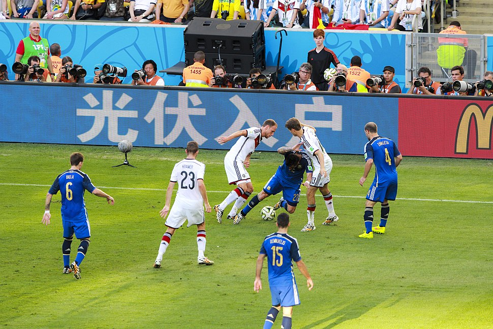 Germany and Argentina face off in the final of the World Cup 2014 -2014-07-13 (29)