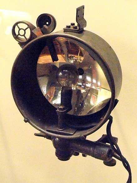 WW I German Blinkgerat Germany blinker signal lamp - National World War I Museum - Kansas City, MO - DSC07704.JPG