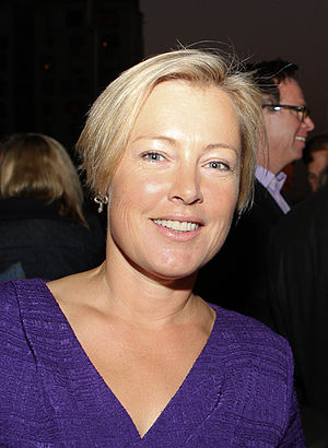 Gillian Tett - Tett at the Financial Times Autumn Party, September 2014