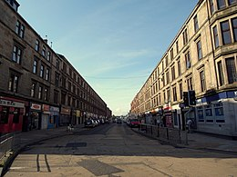 Glasgow. Possilpark. Saracen Street, view towards the south.jpg