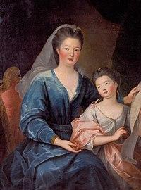 "Gobert - The Duchess of Bourbon with her daughter ""Mademoiselle de Vermandois"" - Tours.jpg"