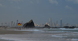 Gold Coast skyline from Currumbin Beach.jpg
