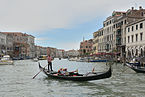 Gondola on the Canal Grande in Venice.jpg