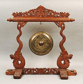 Asia and Pacific Museum - Image: Gong (Jawa Środkowa) Muzeum Azji i Pacyfiku