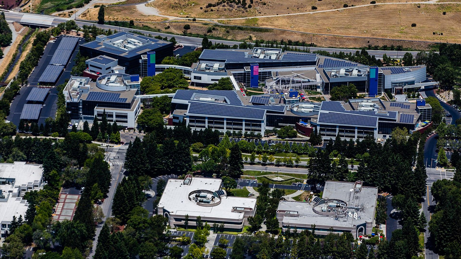 Le campus Google